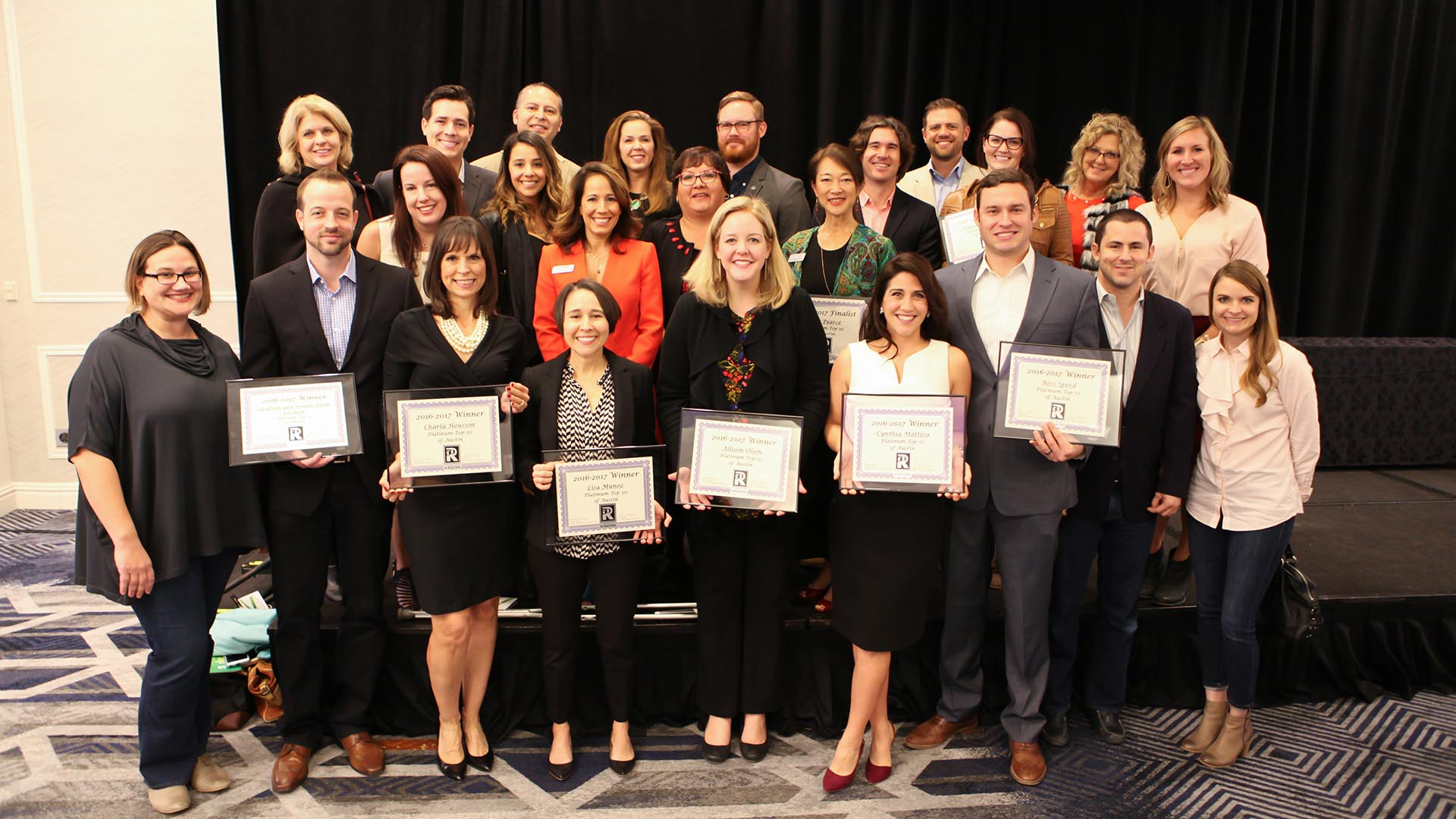 Image of Realty Austin PT50 Award Winners and Finalists