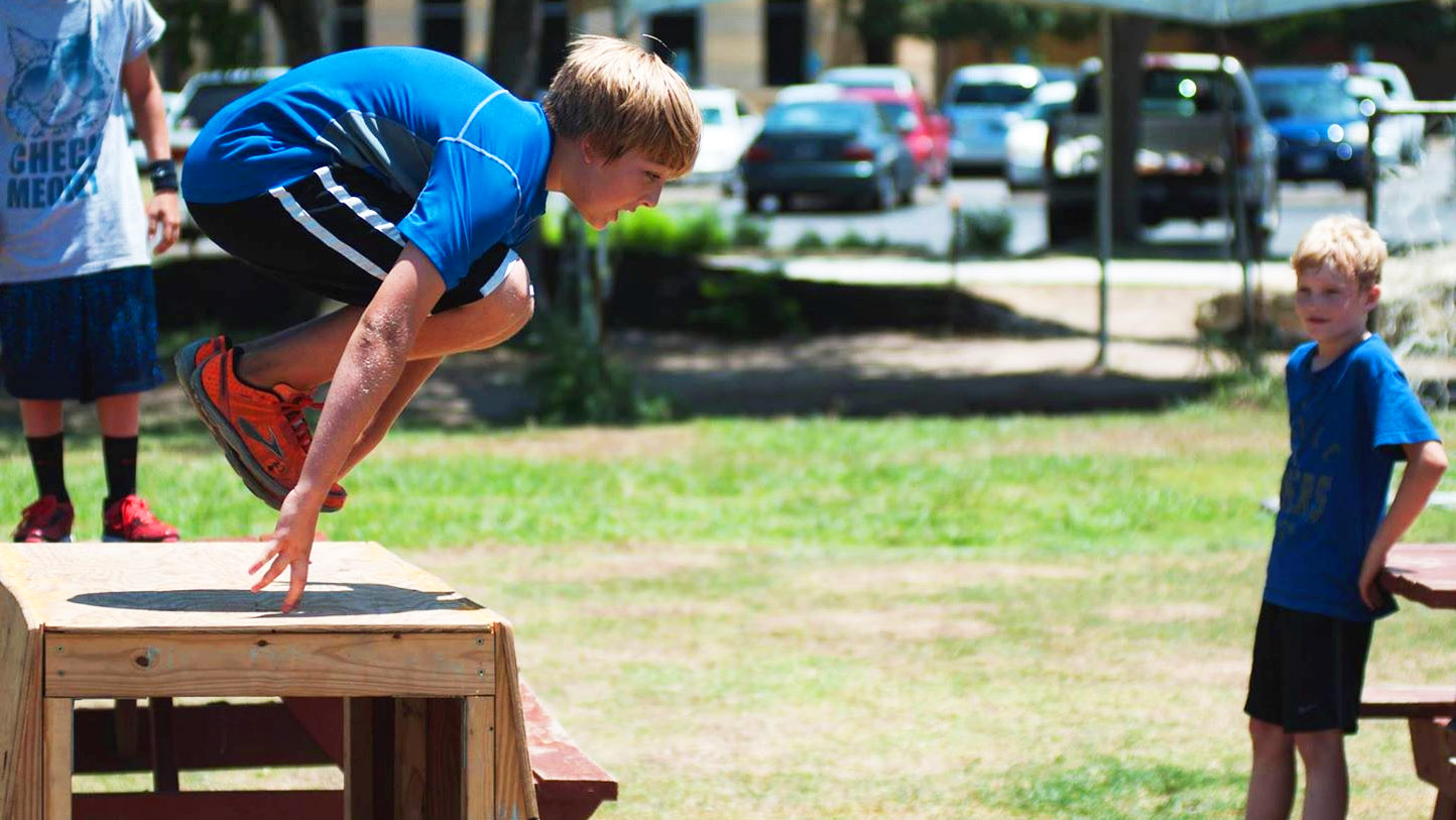 Image of Parkour and Play Camp