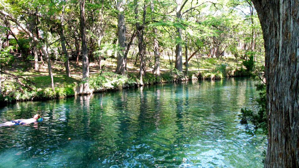Image of Blue Hole at Wimberley