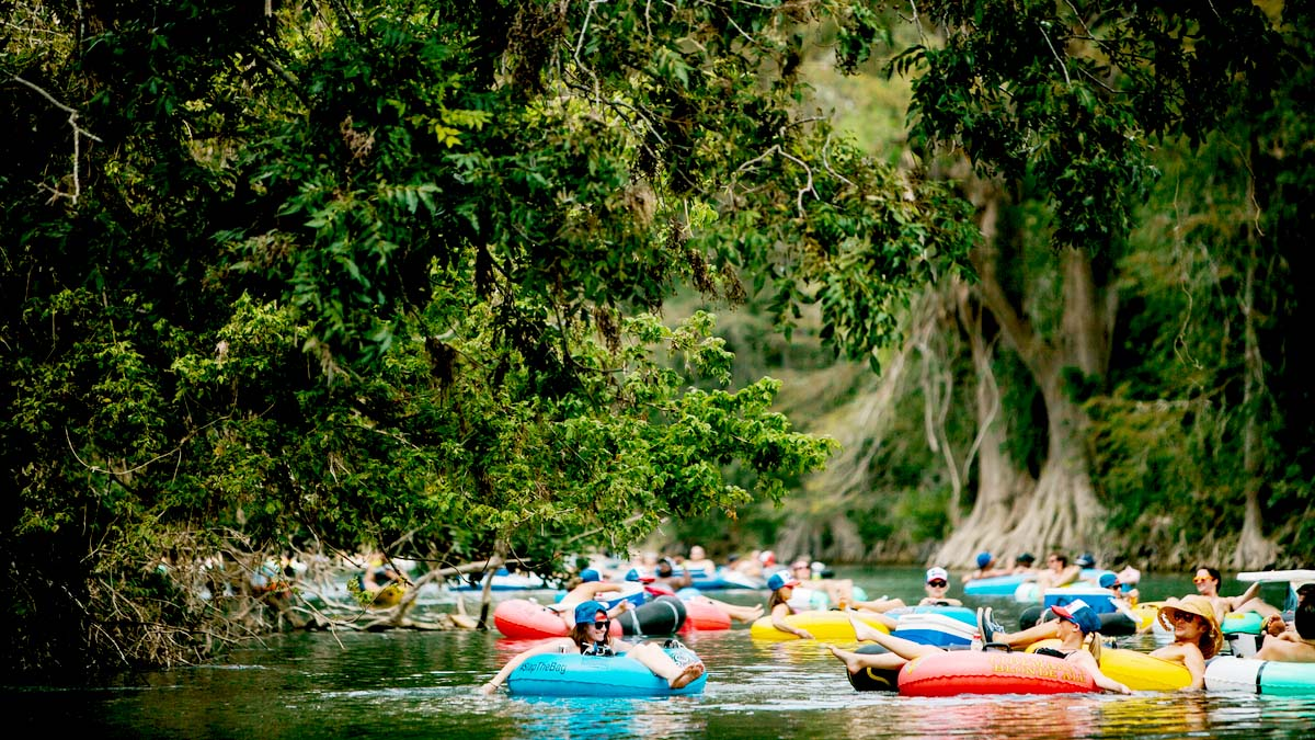 Image of River Tubing
