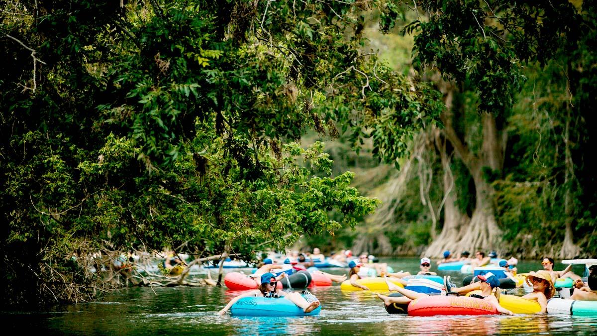 Image of River Tubing