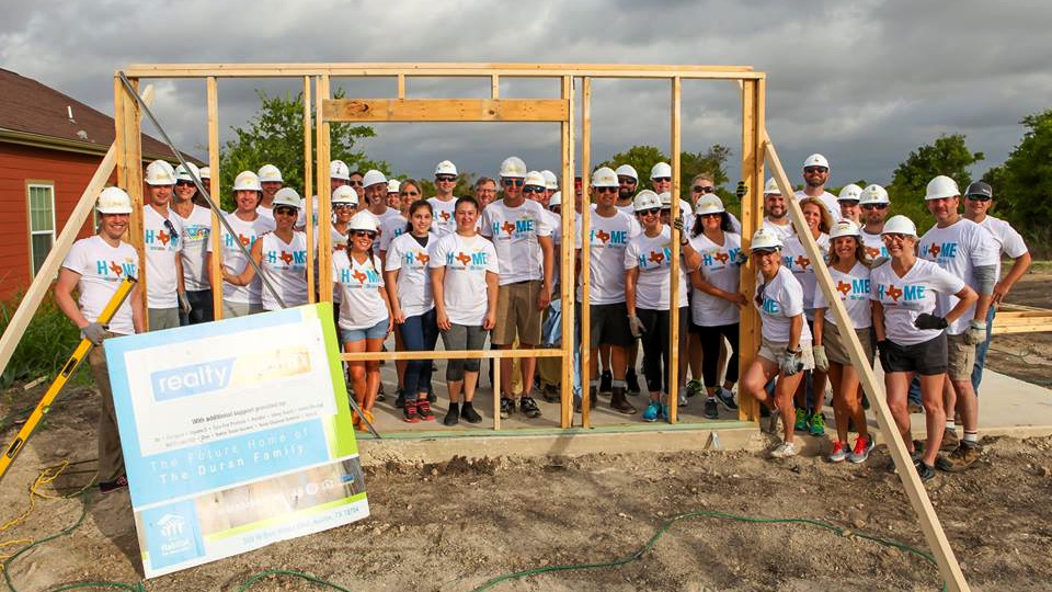 Image of 6th Annual Realty Austin Home Build Kick Off