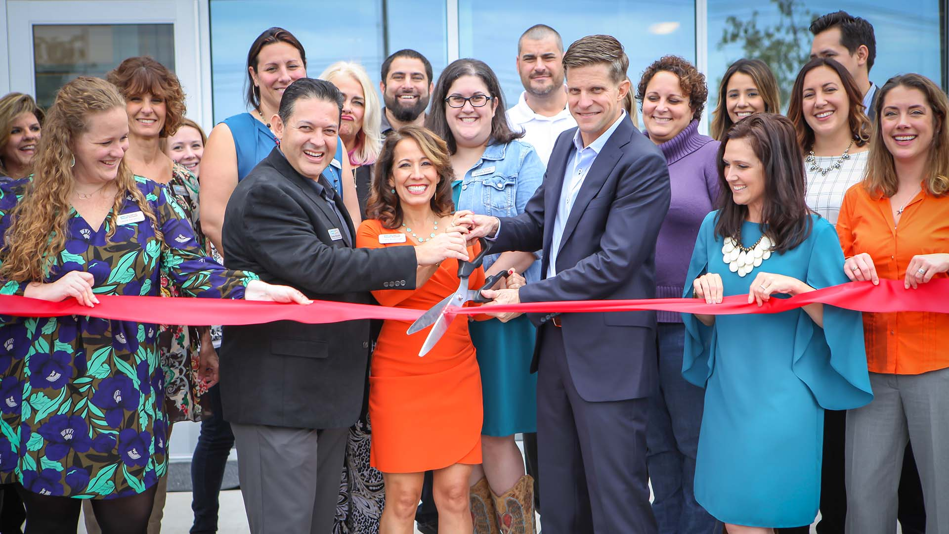 Image of Realty Austin's Round Rock Office Ribbon Cutting