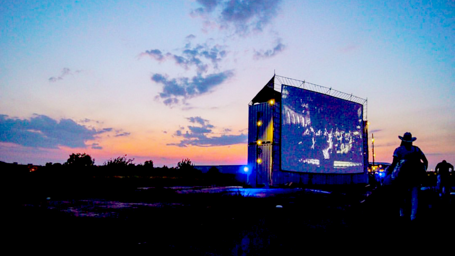 Image of Blue Starlite Drive-In