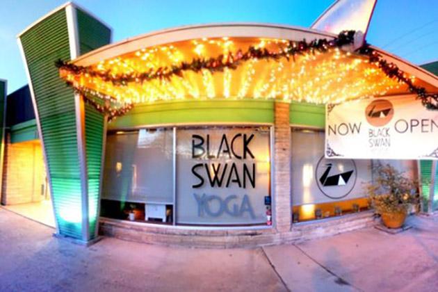 Hot Yoga at Black Swan Yoga Austin