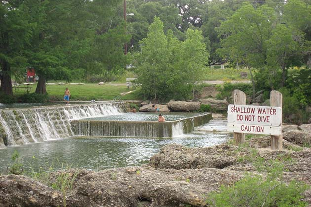 The Definitive Guide to Austin's Best Swimming Holes - Blanco State Park - Realty Austin