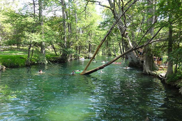 The Definitive Guide to Austin's Best Swimming Holes - Blue Hole at Wimberley - Realty Austin