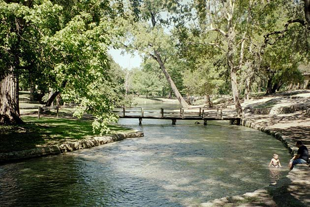 The Definitive Guide to Austin's Best Swimming Holes - Comal River - Realty Austin