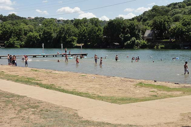 The Definitive Guide to Austin's Best Swimming Holes - Emma Long Metro Park - Realty Austin