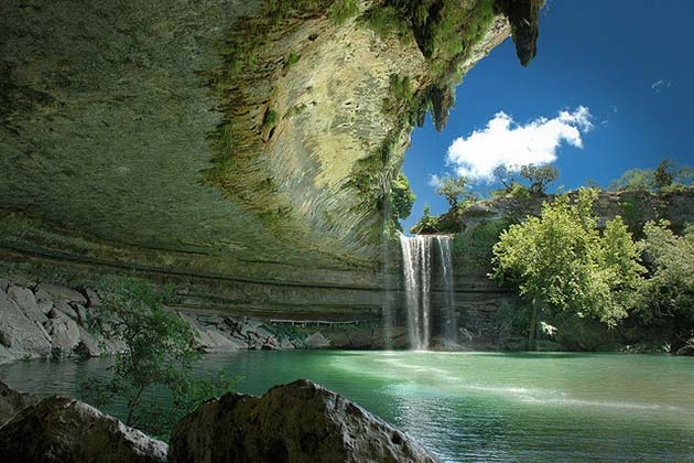 The Definitive Guide to Austin's Best Swimming Holes - Hamilton Pool - Realty Austin