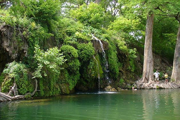 The Definitive Guide to Austin's Best Swimming Holes - Krause Springs - Realty Austin