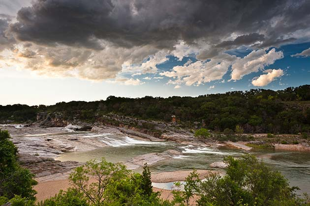 The Definitive Guide to Austin's Swimming Holes - Pedernales Falls - Realty Austin
